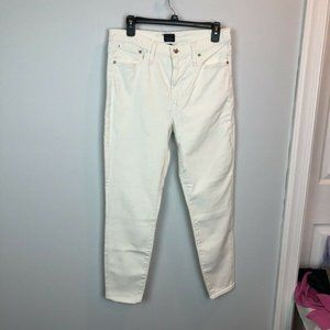 """J.Crew Factory $80 9"""" High Rise Skinny Jeans"""